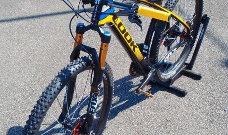 Préparation du vélo Pontivy